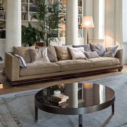 Chopin free back cushions | Lounge sofas | Longhi S.p.a.