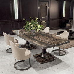 George | Dining tables | Longhi S.p.a.
