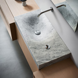 Flat 815 stone | Wash basins | Agape