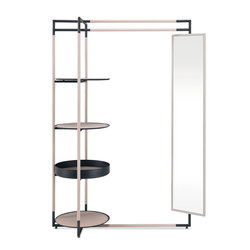 Bak valet stand mirror | Standgarderoben | Frag
