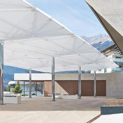 Type AV Double membrane umbrella | Textile buildings | MDT-tex