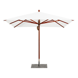 Type H Wooden umbrella | Ombrelloni | MDT-tex