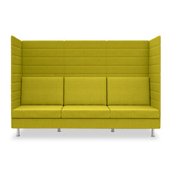 Atelier three-seater, height 160 cm | Lounge sofas | Dauphin