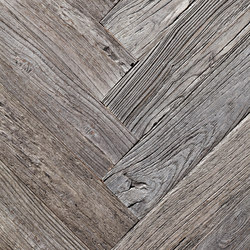 Stockholm Rough | White Oak, Weathered Herring-Bone | Wood flooring | Imondi