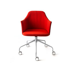 Task chairs-Office chairs-Break Con Ruote Chair-Bross