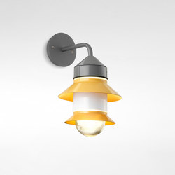 Santorini A Fixed Stem | Lampade outdoor parete | Marset