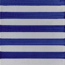 P Righe Blu Piccole | Carrelage céramique | La Riggiola