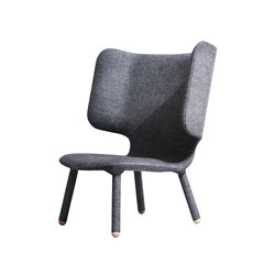 Tembo Lounge Chair Grey | Fauteuils d'attente | NEW WORKS
