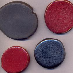 Serie Pietre PO bronzo rosso selenio | Ceramic mosaics | La Riggiola