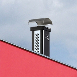 Luminance Graphinox chimney stack | Schornsteine | Poujoulat