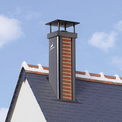 Luminance Terranova chimney stack | Chimney stacks | Poujoulat