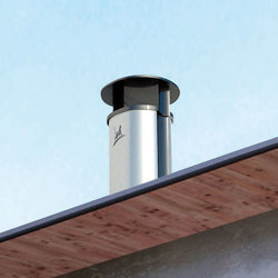 Optimale chimney stack | Chimney solutions | Poujoulat
