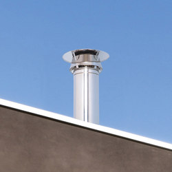 STI Galactic cap chimney stack | Chimney solutions | Poujoulat