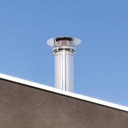 STI Galactic cap chimney stack | Chimney stacks | Poujoulat