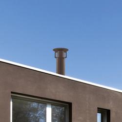 STI Spiral cap chimney stack | Schornsteine | Poujoulat