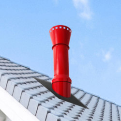 STI RAL colour chimney stack | Chimney stacks | Poujoulat