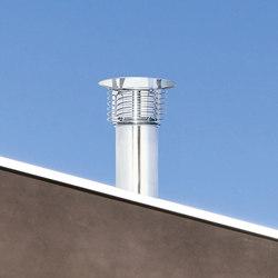 STI Spiral cap chimney stack | Chimney stacks | Poujoulat