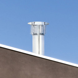 STI Spiral cap chimney stack | Chimney solutions | Poujoulat