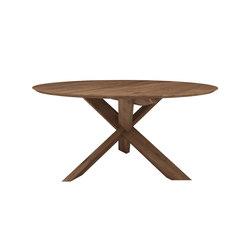Teak circle dining table | Restauranttische | Ethnicraft