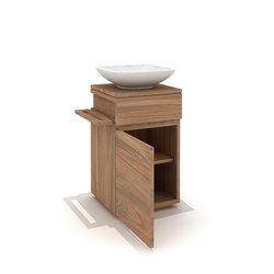Teak Square base unit | Vanity units | Ethnicraft