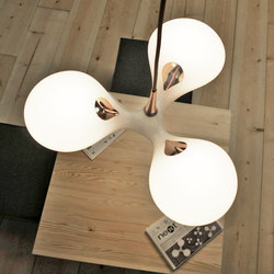 Enterprise copper – wood | Lampade sospensione | next