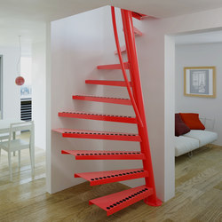 1m2™ TSS-067 | Metal stairs | EeStairs