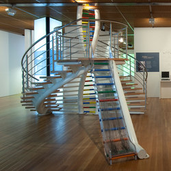 DNA Stairs TWS-425 | Glastreppen | EeStairs