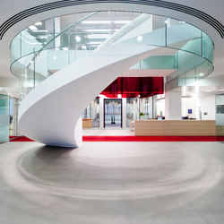 EeSoffit | Helical Stairs Stone TWE-524 | Staircase systems | EeStairs