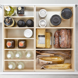 DRAWERS SYSTEM - MAPLE | Kitchen products | Poggenpohl