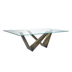 Prisma 72 Steel | Tables de restaurant | Reflex