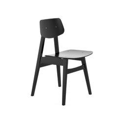 1960 Chair Black | Besucherstühle | Rex Kralj