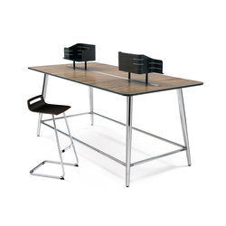 mastermind highdesk | 2-persons workstations | Sedus Stoll