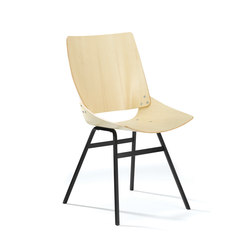 Shell Chair Ash | Visitors chairs / Side chairs | Rex Kralj