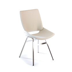 Shell Dining Chair Full Textile | Visitors chairs / Side chairs | Rex Kralj