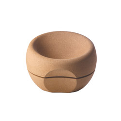 Spherical Cork Armchair | Sessel | Movecho