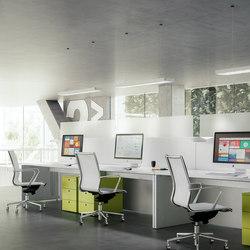 Sistema 28 | Sistemas de mesas | Fantoni