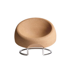 Spherical Cork Armchair | Fauteuils | Movecho