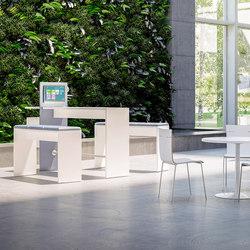 Sistema 28 | Mesas de reunión altas | Fantoni