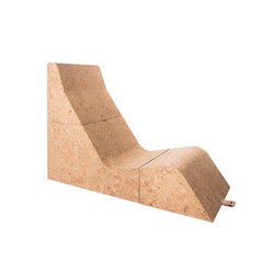 Tumble Cork Chair&Table | Lounge chairs | Movecho