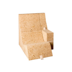 Tumble Cork Chair&Table | Poltrone lounge | Movecho