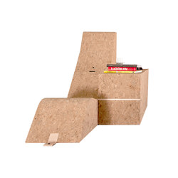 Tumble Cork Chair&Table | Sillones lounge | Movecho