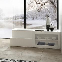 Badewanne aus Corian | Badewannen rechteckig | talsee