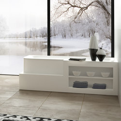 Badewanne aus Corian | Baignoires rectangulaires | talsee