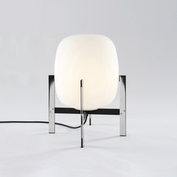 Cesta Metálica | Table Lamp | Lampade tavolo | Santa & Cole