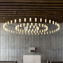 Cirio Circular | Pendant Lamp | Suspended lights | Santa & Cole