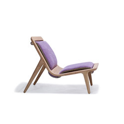LayAir 01 Low Armchair | Loungesessel | Hookl und Stool