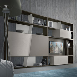 crossART arrangement | Wall storage systems | Presotto
