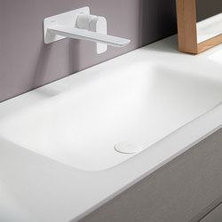 D2 Corian® Washbasin Countertop | Wash basins | Inbani