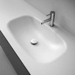 G1 Corian® Washbasin Countertop | Wash basins | Inbani