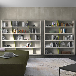 crossART bookcases | Library shelving | Presotto